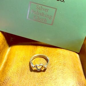 TIFFANY & CO. Paloma Picasso Heart Ring-Size 6.5